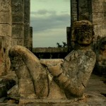 Chac Mool. Temple of the Warriors. Chichen Itza