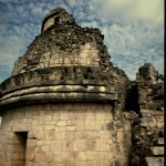 El Caracol - mayan observatory.  Chichen Itza