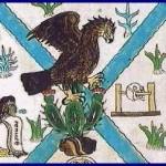 The foundation of the Tenochtitlan by Mendoza codice