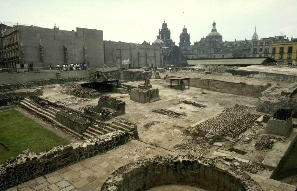 Maya and Aztec » Cities » Tenochtitlan (aztecs)