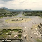 Pyramid of the Sun, Avenue of the Dead. Teotihuacan, Mexico