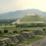 Pyramid of the Sun. Teotihuacan, Mexico