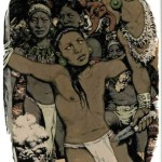 Sacrifices played a major part in Mayan religious ritualism