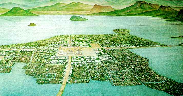 The uniquness of the aztec history economy environment and way of life