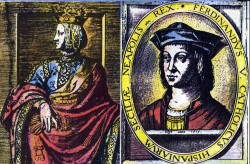 Queen Isabella and King Ferdinand