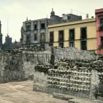Tzompantli. Tenochtitlan. Mexico