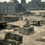 Templo Mayor. Tenochtitlan. Mexico