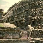 Quetzalcoatl Pyramid. Teotihuacan