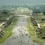 Avenue of the Dead. Teotihuacan, Mexico